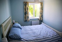 image of the bedroom in Tide Cottage self catering holiday let in perranuthnoe
