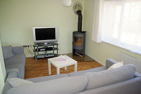 image ofTide Cottage lounge self catering holiday let in perranuthnoe