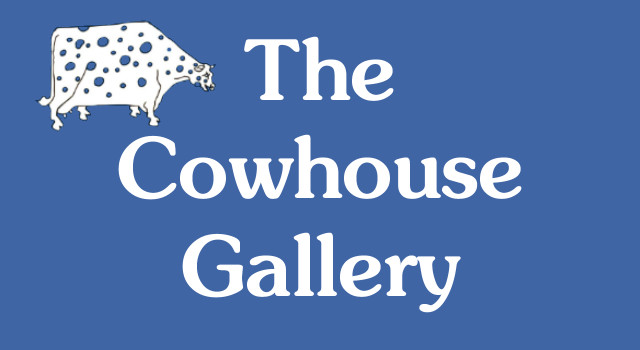 image of cowhouse gallery sign perranuthnoe